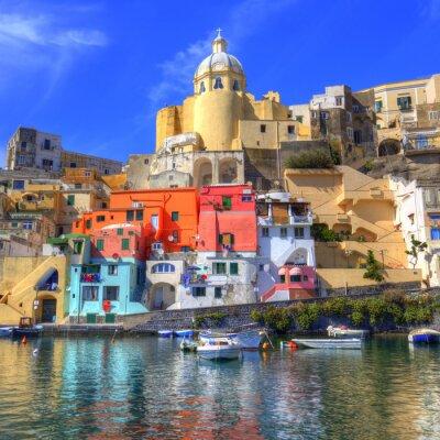 Posters Procida, Isola nel Mar Mediterraneo, Naples