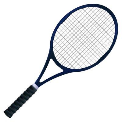 Posters Raquette de tennis