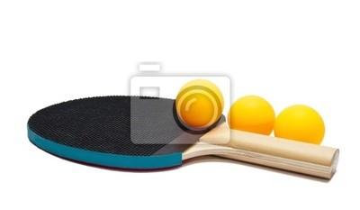 Raquettes et balles de tennis