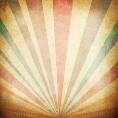 Posters Rayons de soleil de cru de fond