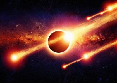 Posters Résumé apocalypse de l'espace
