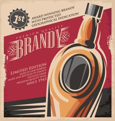Posters Rétro boisson créative concept de médias imprimés