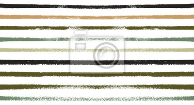 Posters Rétro Seamless Aquarelle Sailor Stripes Vector Summer Pattern. Lignes de graffiti créatives peintes à la main. Textile Vintage Stripes Design. Impression de tissus à la mode Funky, modèle horizontal s