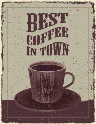 Posters Retro-Vintage Coffee Poster