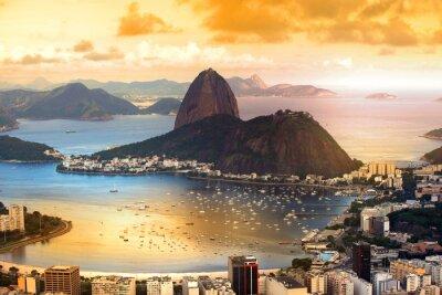 Posters Rio De Janeiro, Brésil dans la pénombre