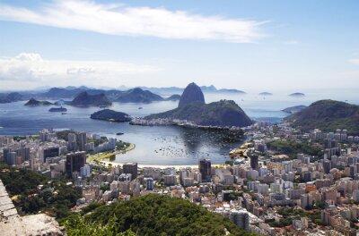 Posters Rio de Janeiro. General view of the city.
