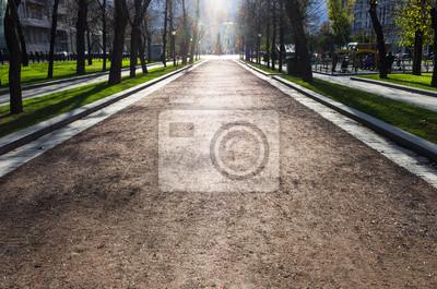 rue de lumière fantôme