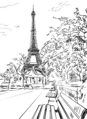 Posters Rue de Paris.