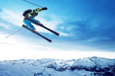 Posters Sauts de Skieur