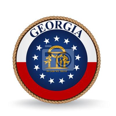 Posters Seal Géorgie