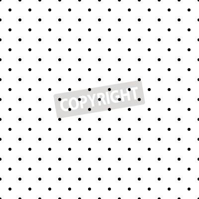 Superieur Posters Seamless Noir Et Blanc Ou Fond Avec Petits Pois Pour Le Papier Peint  De Bureau