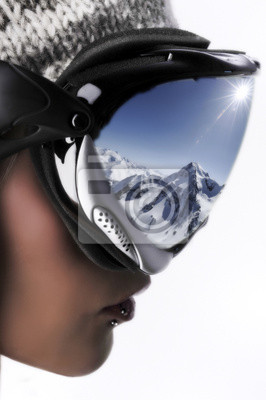 skieuse et les sport d'hiver