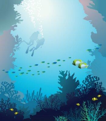 Posters Sous l'eau.