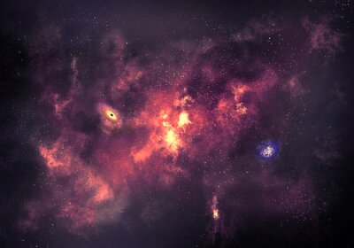 Posters Space background