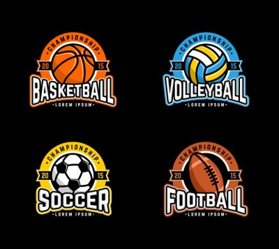 Posters Sports Badge