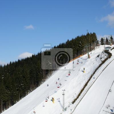 Sports d'hiver à Winterberg (Hochsuaerland)