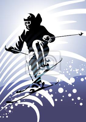 Sports d'hiver: ski alpin