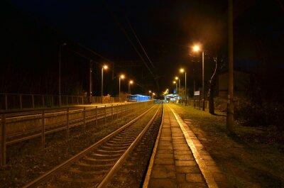 Posters Station de nuit