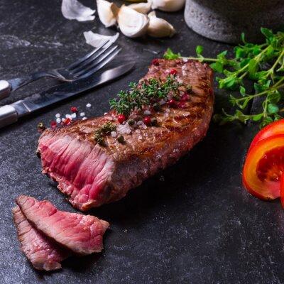 Posters steak grillé