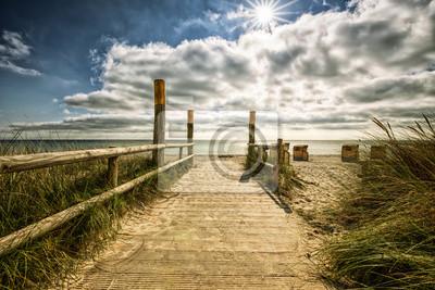 Posters Strandaufgang Fehmarn