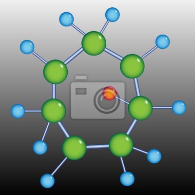 Posters Structure de la molécule