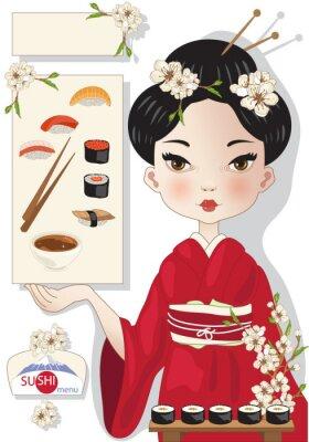 Posters Sushi Menu