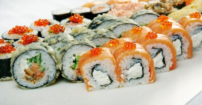 Posters Sushi Roll.
