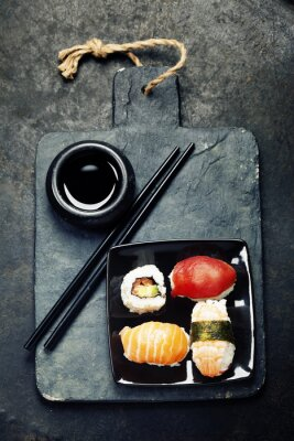 Posters Sushi set