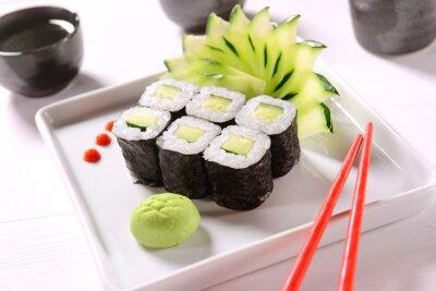 Posters Sushi Vegan