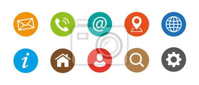 Posters Symbole de symbole Web
