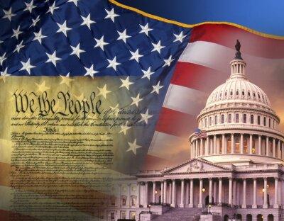 Posters Symboles patriotiques - Etats-Unis d'Amérique