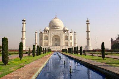 Posters Taj Mahal mausolée, Agra, Inde
