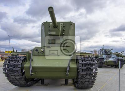 tank soviétique vintage lourd