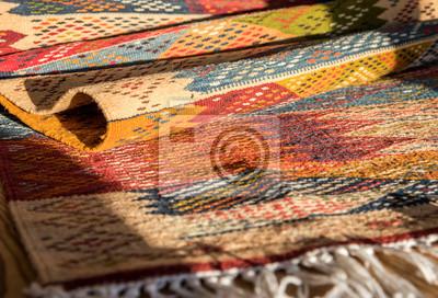 Tapis Typiquement Berbere Oriental Dune Tribu Saharienne Maroc