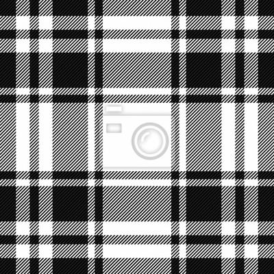 Posters Tartan plaid. Pattern Scottish cage