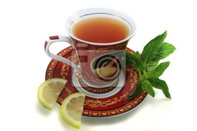 Tasse de thé dans un style classique