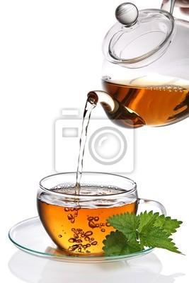 Tasse de thé (détourage inclus)