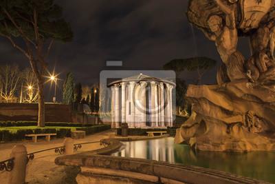 Temple sur la Piazza Santa Maria in Cosmedin, Rome