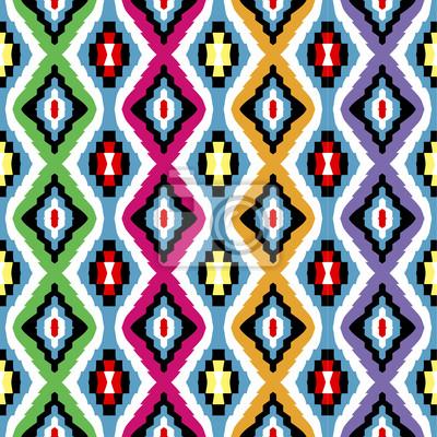 Texture de couleur ethnique