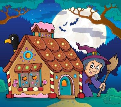 Posters thème maison de pain d'épice Image 4