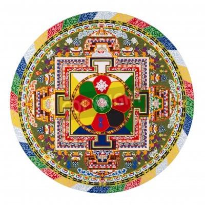 Posters Tibetan mandala