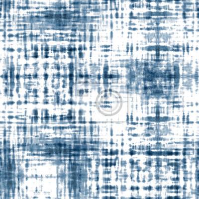 Posters Tie dye shibori seamless pattern. Watercolour abstract texture.