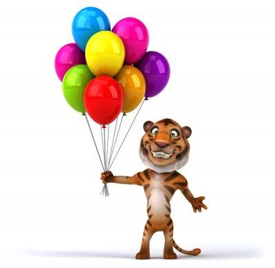 Posters Tiger Fun