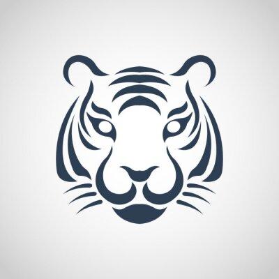 Posters tigre vecteur logo