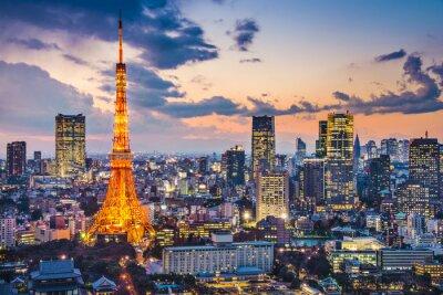 Posters Tokyo, Japon à la Tour de Tokyo
