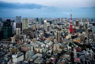 Posters Tokyo vue sur la ville