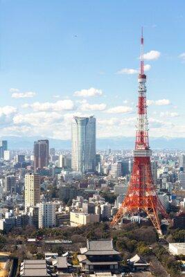 Posters Tour de Tokyo paysage urbain