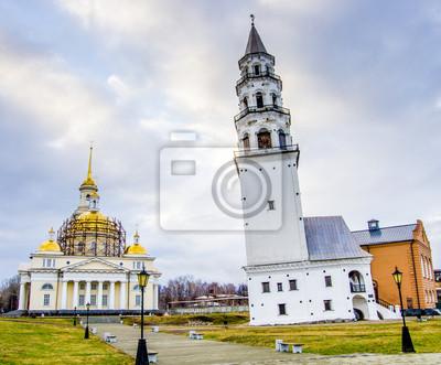 Tour penchée de Nevyansk, Russie