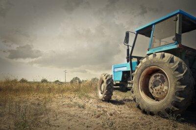 Posters Tracteur dans la campagne