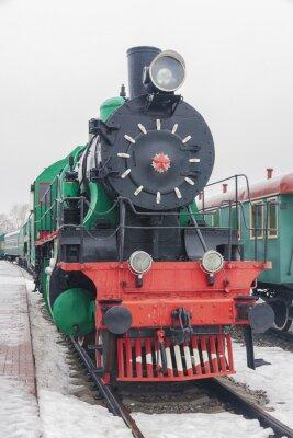 Posters train à vapeur